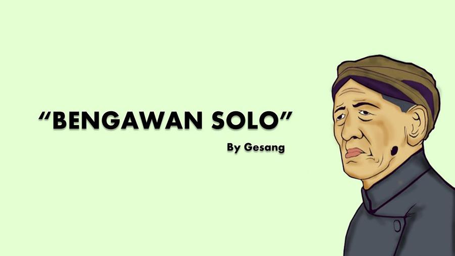 Lirik Lagu Bengawan Solo