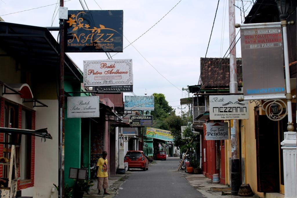 kampung wisata batik laweyan solo