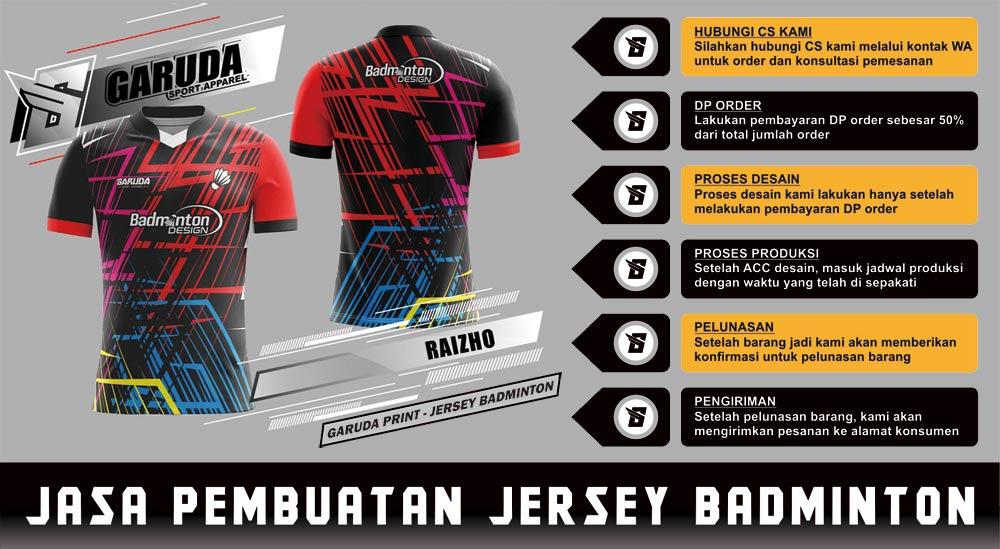 jersey badminton solo