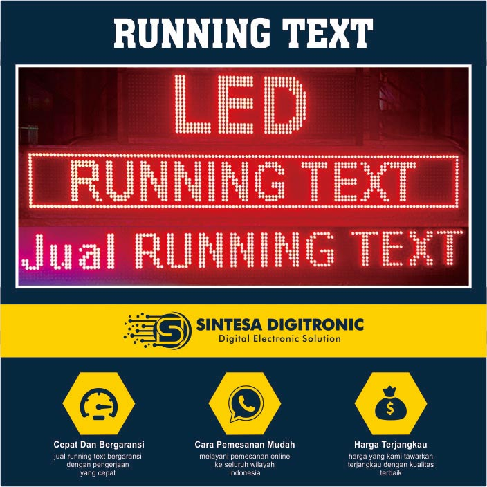 running text solo